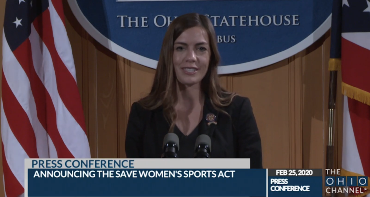 Ohio lawmakers join wave of efforts to keep biological males out of girls' sports