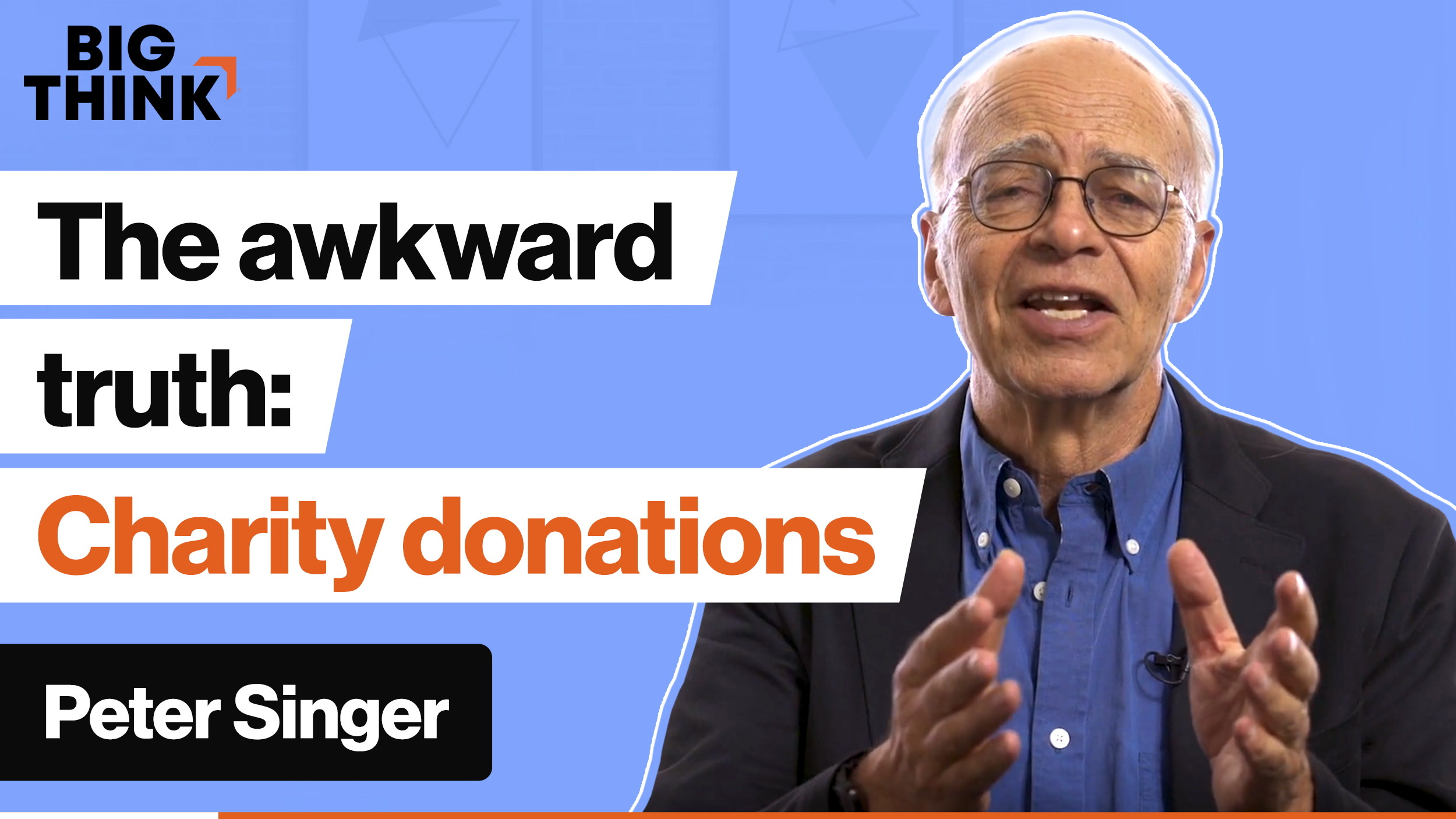 The awkward truth about choosing charities