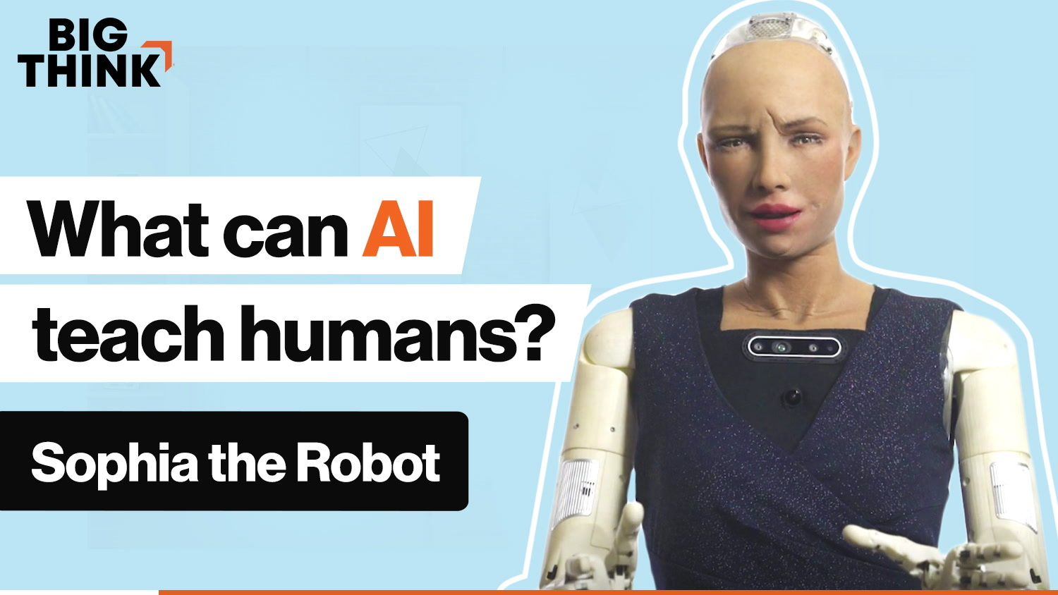 Ask Sophia the Robot: What can AI teach humans?