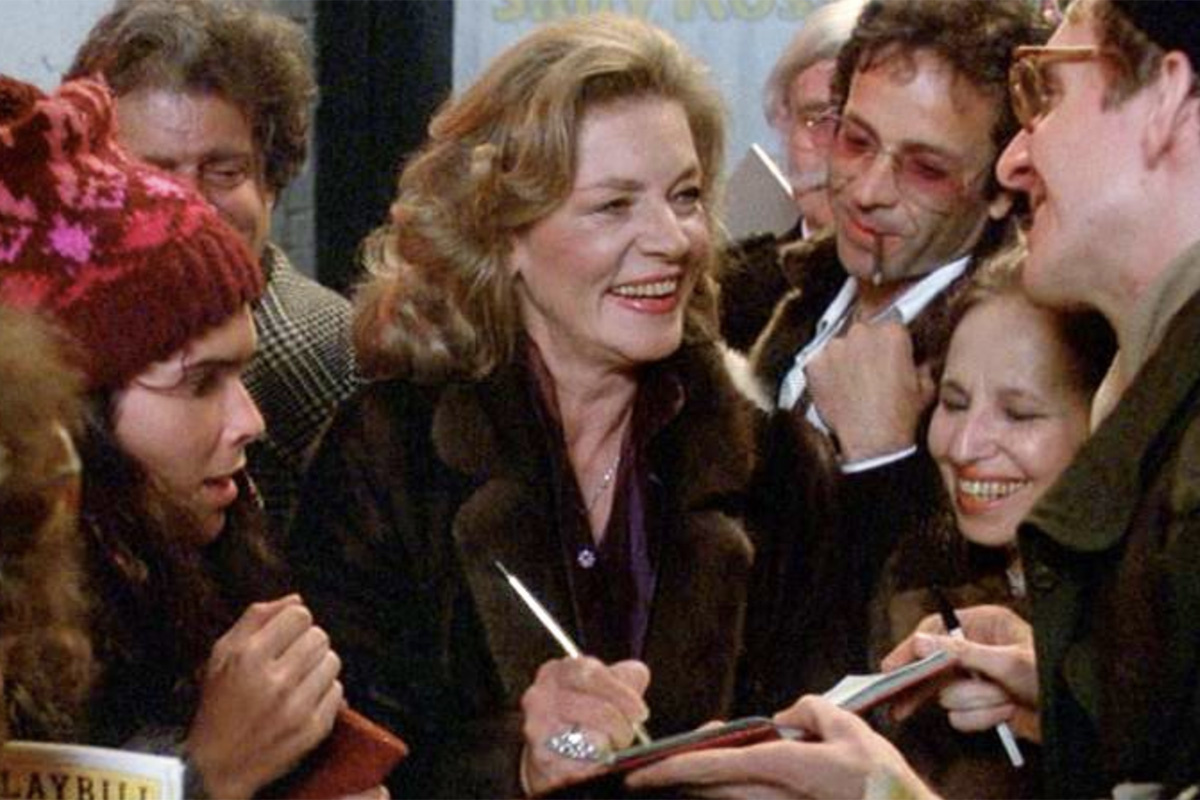 The Kitsch Hits  The Fan : Lauren Bacall Stars in the Weirdly Enjoyable  80s Thriller