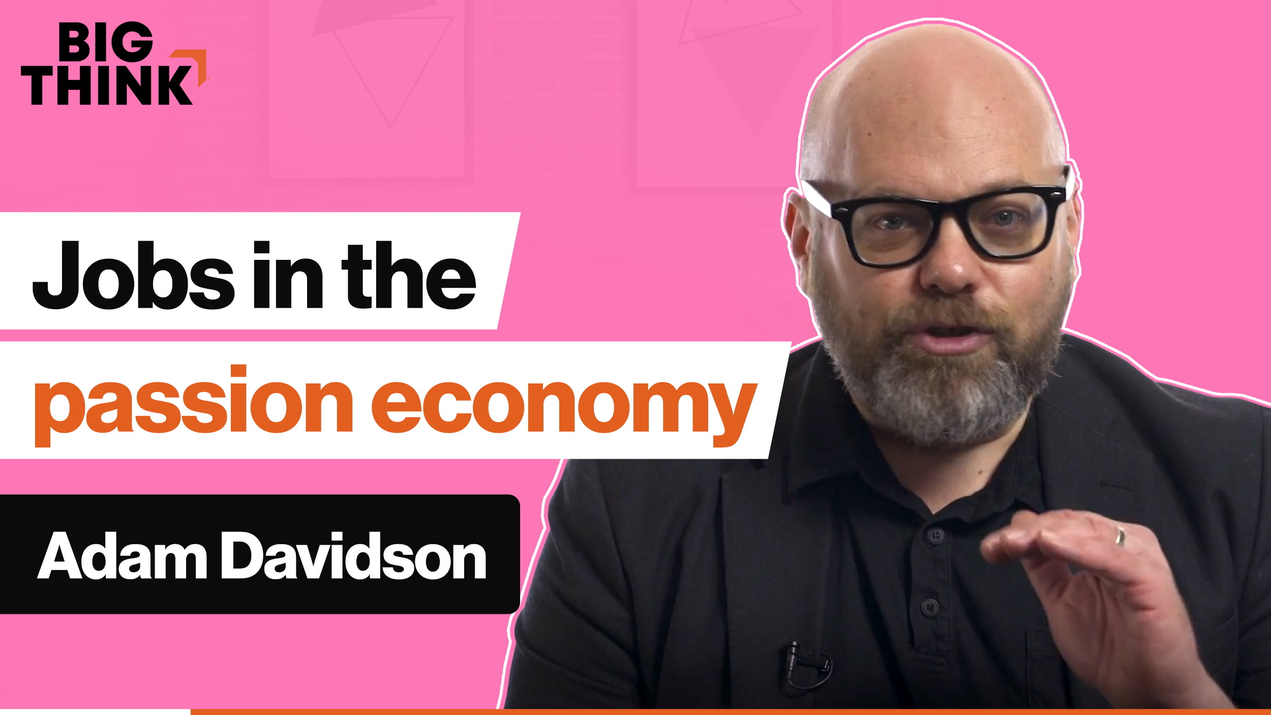 How is the passion economy changing the way we look at jobs?