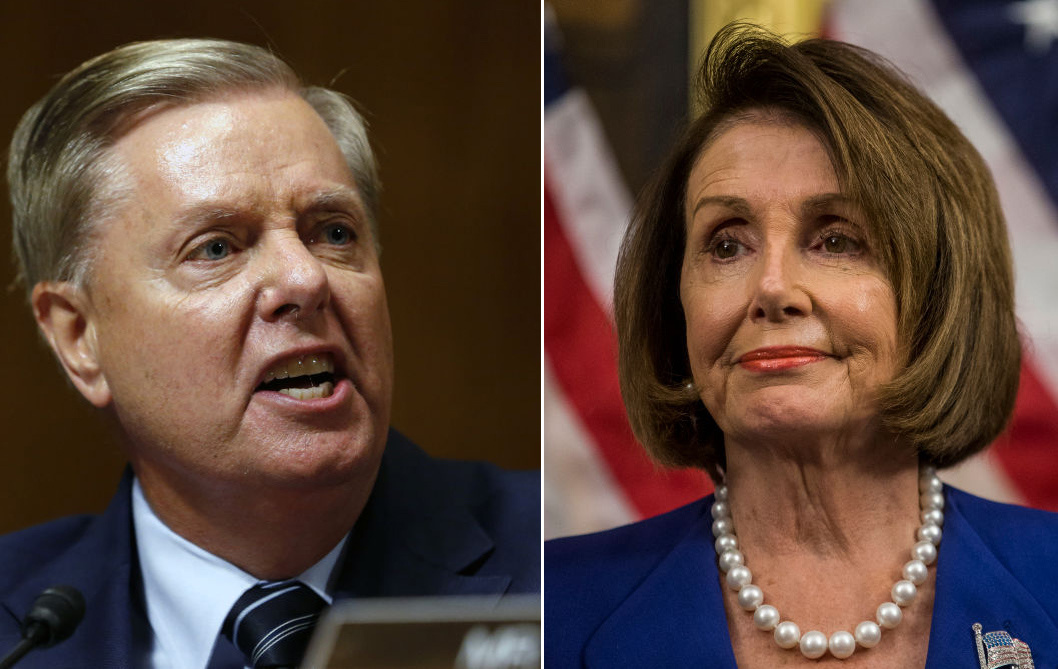 Lindsey Graham punches back at Pelosi after she blames Trump for Americans dying from coronavirus