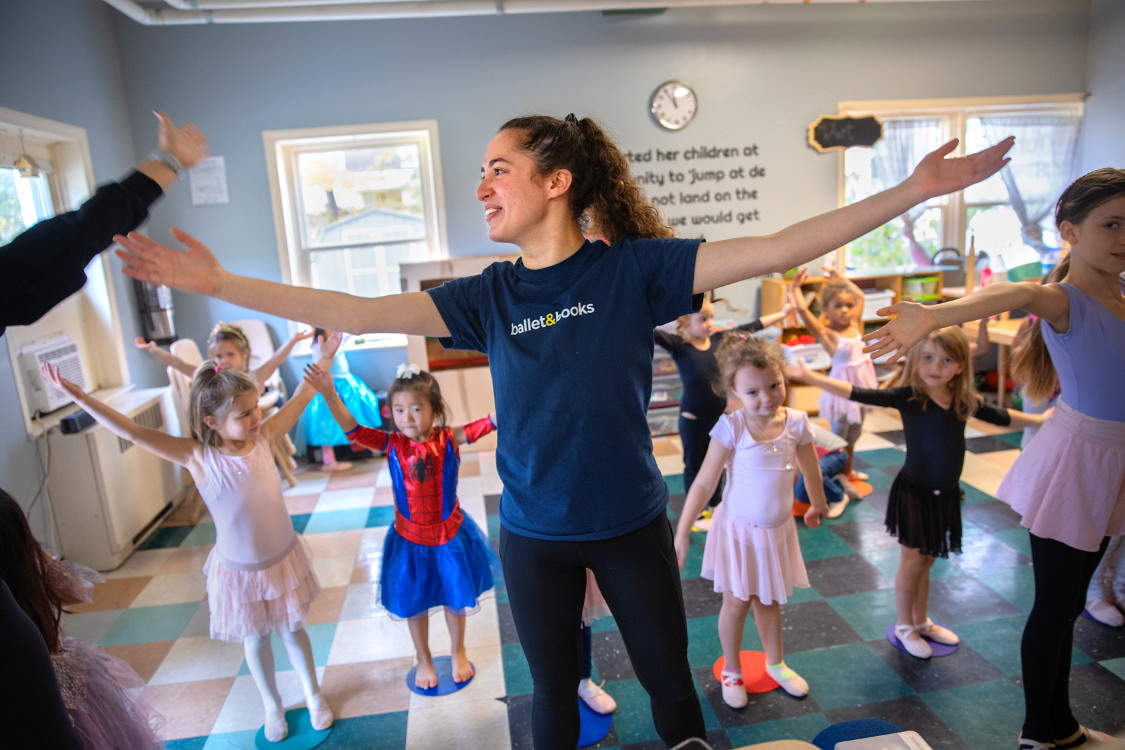 How This College Student Is Using Her Ballet Training to Help Children Learn to Read