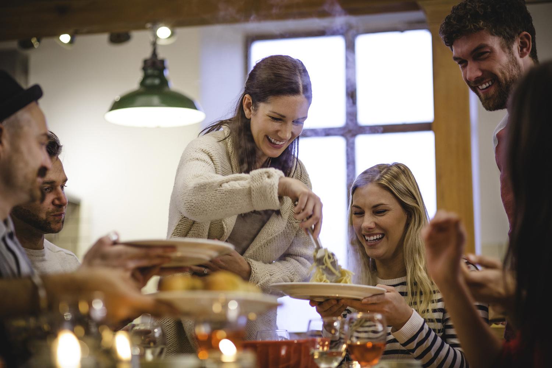 Endorfine ed alimentazione per aumentare il buonumore chiusi