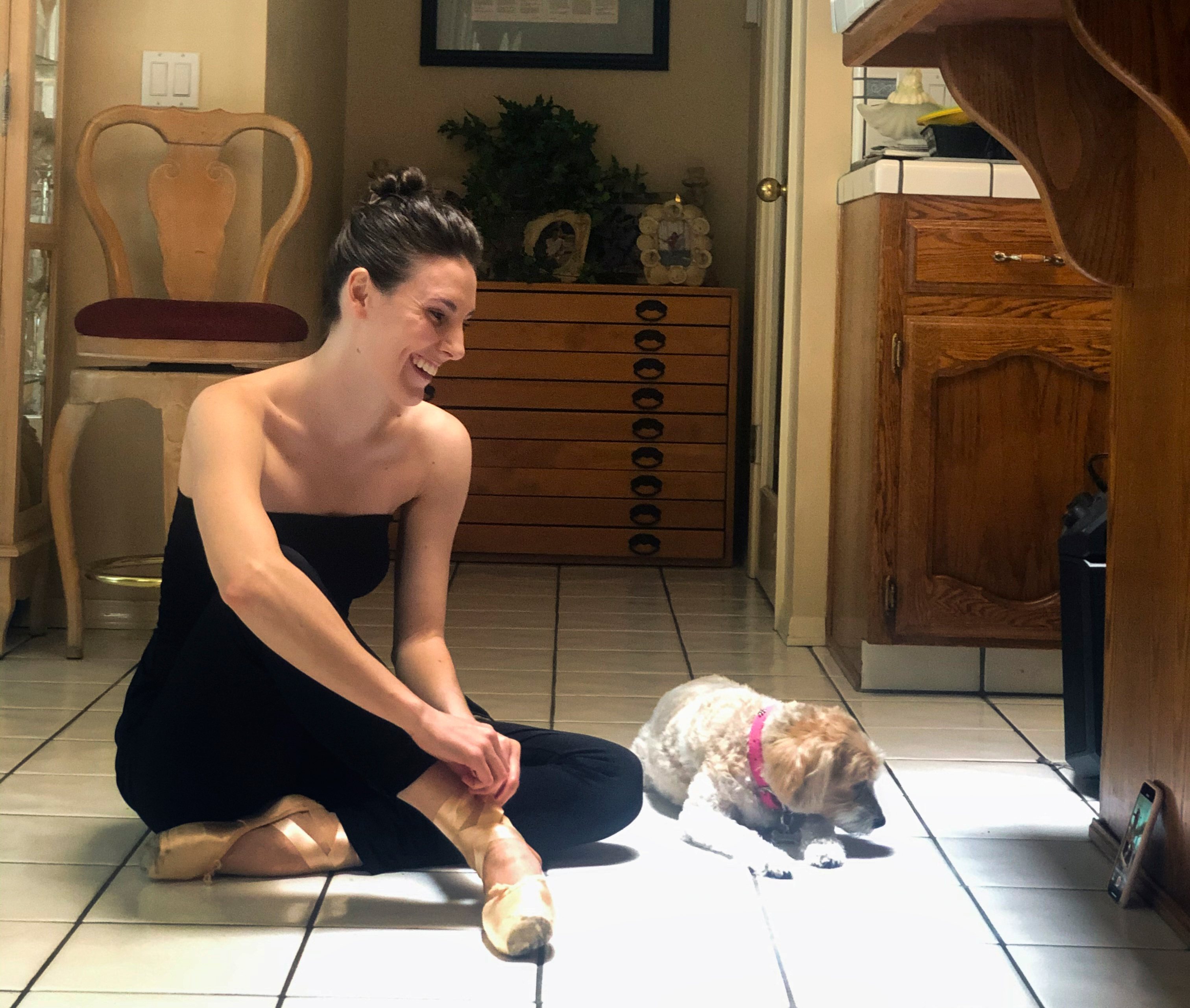 Tiler Peck's Top 10 Tips for Training at Home