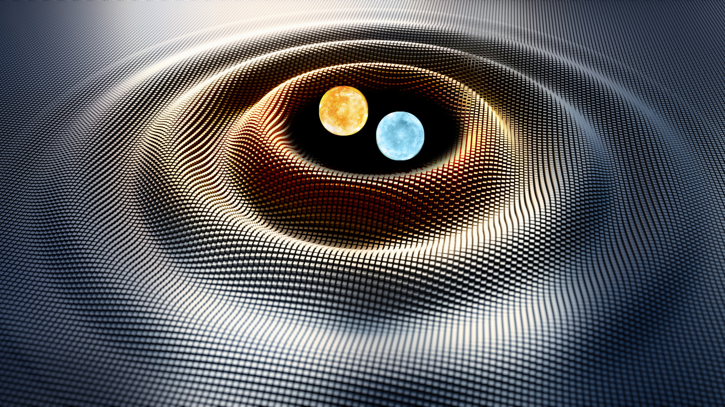 This pair of white dwarfs is spinning out gravitational waves