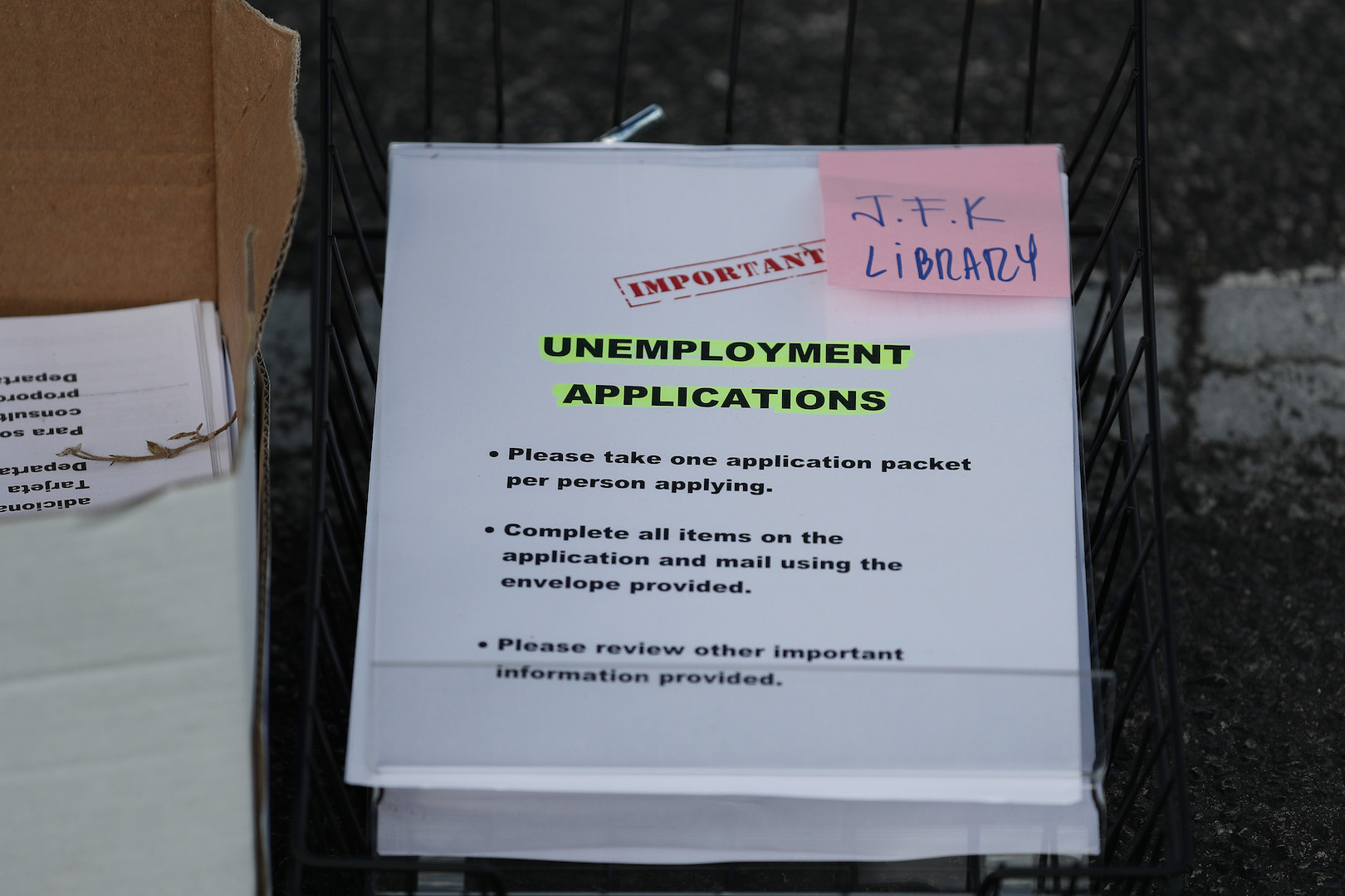Another 6.6 million Americans file unemployment claims; nearly 17 million jobs lost in past three weeks