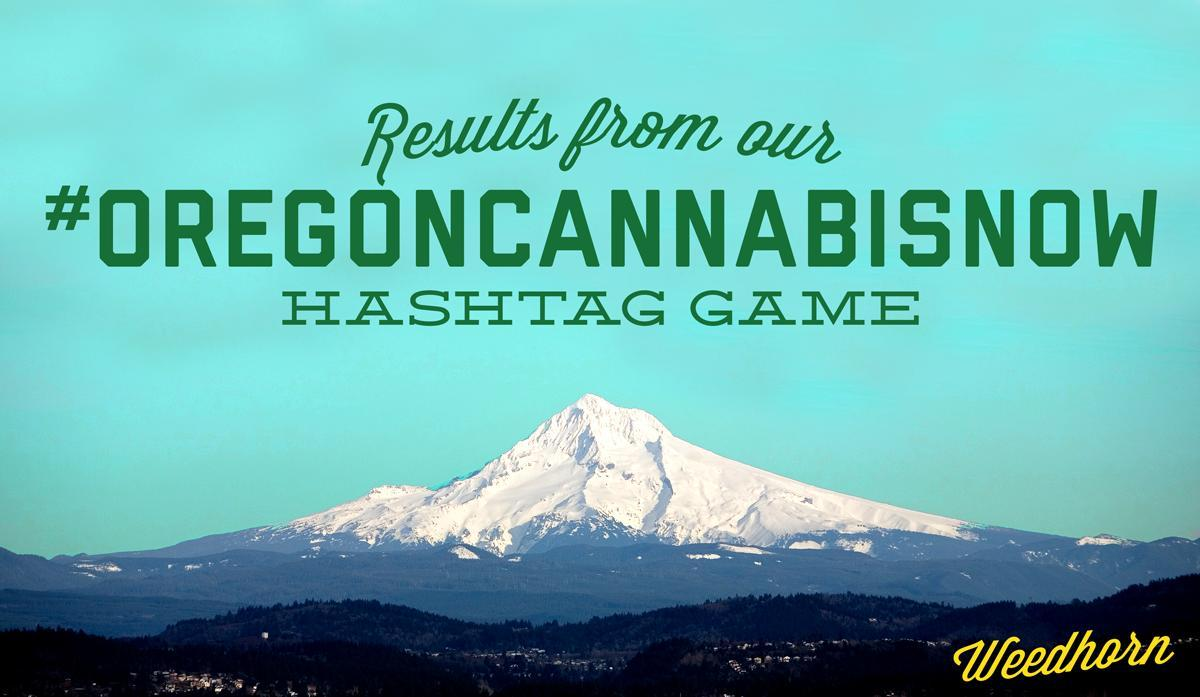 We Celebrated Oregon's New Legalization By Playing #OregonCannabisNow On Twitter