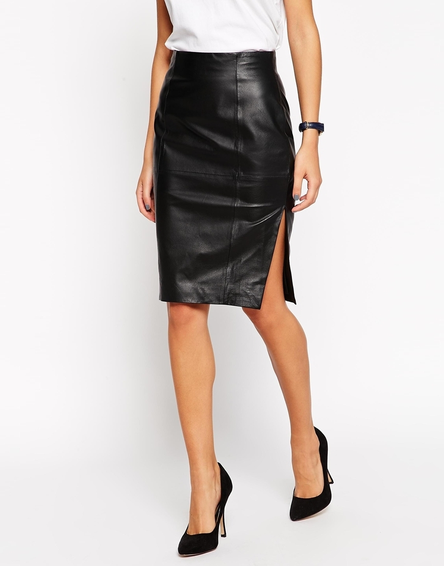 Petite leather skirt – Modern trending things photo blog
