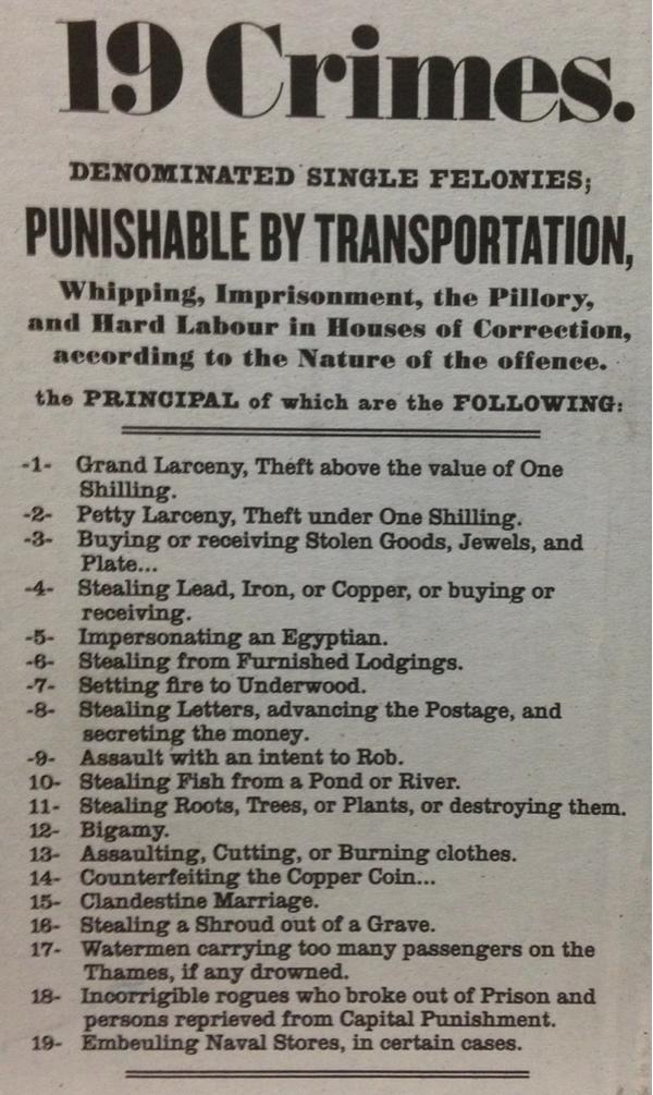 Image result for transportation to Australia punishment