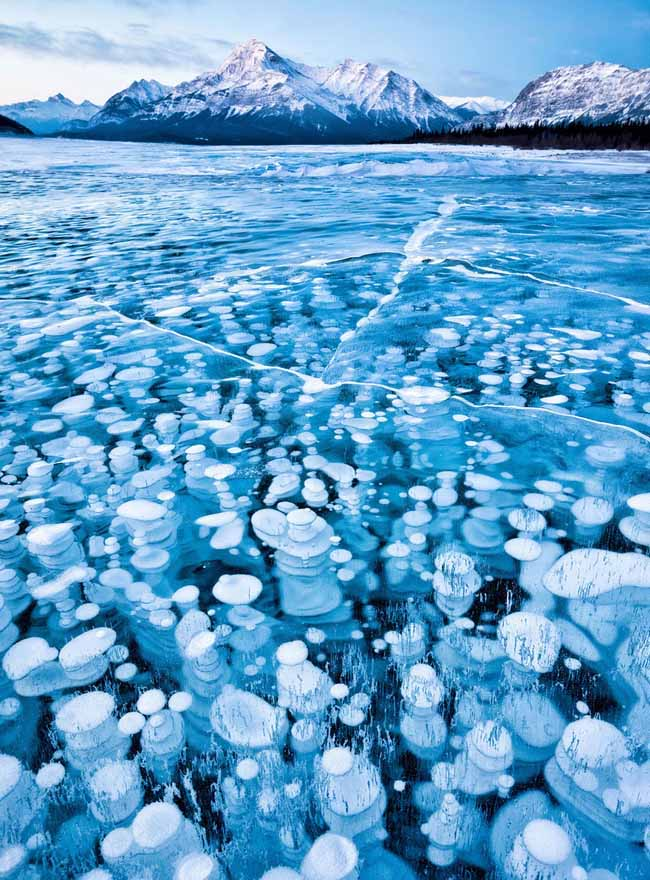 6 Abraham Lake In Canada