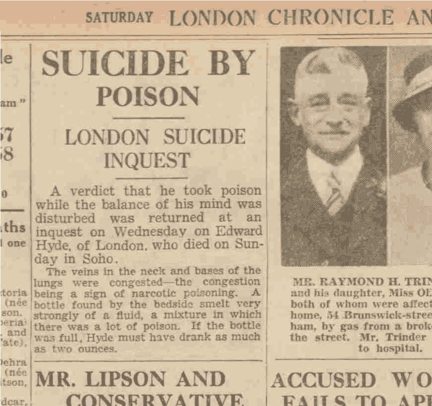jekyll and hyde newspaper article In light of the recent celebration of robert louis stevenson day, the student takes a look at anthony o'neill's sequel dr jekyll & mr seek.