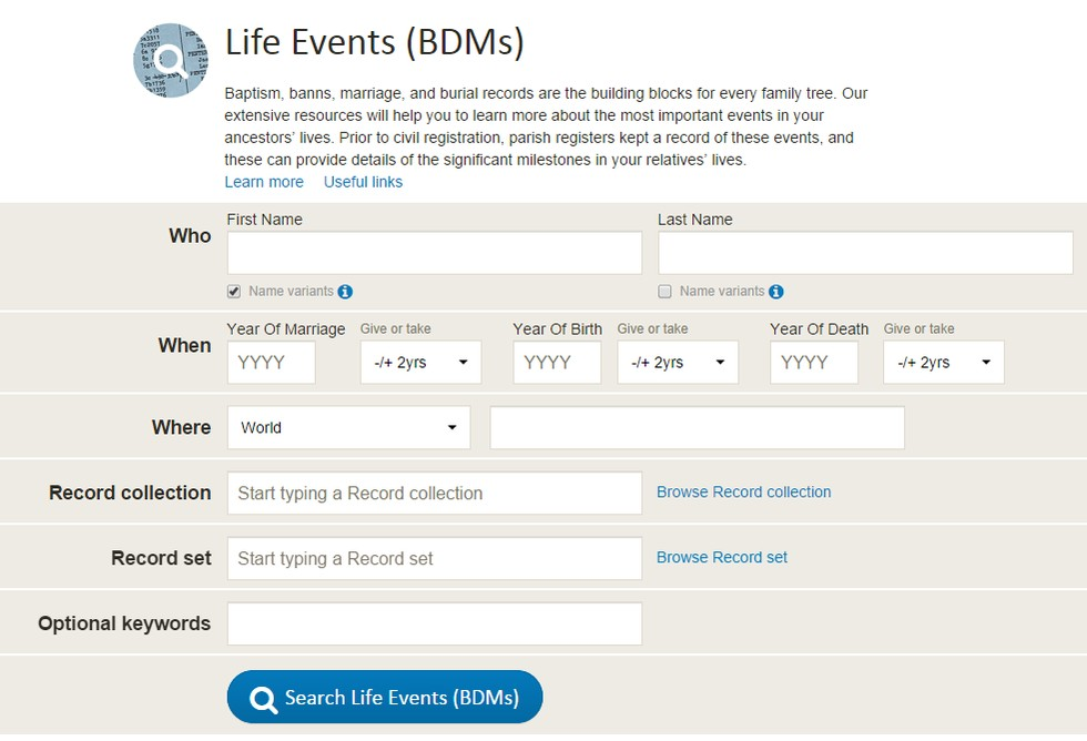 find your ancestors by last name
