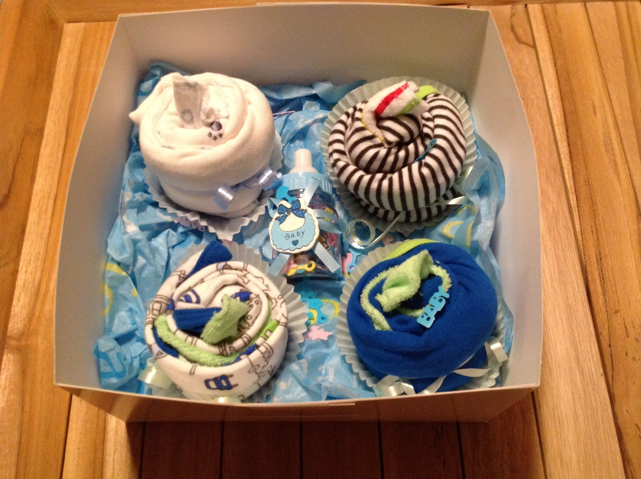 How To Make Cupcake Onesies For Baby Shower Gift B C Guides