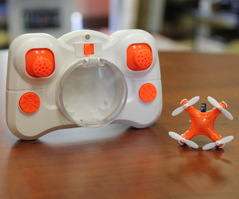Axis Drones AERIUS, The World's Smallest Quadcopter -- toys for dads