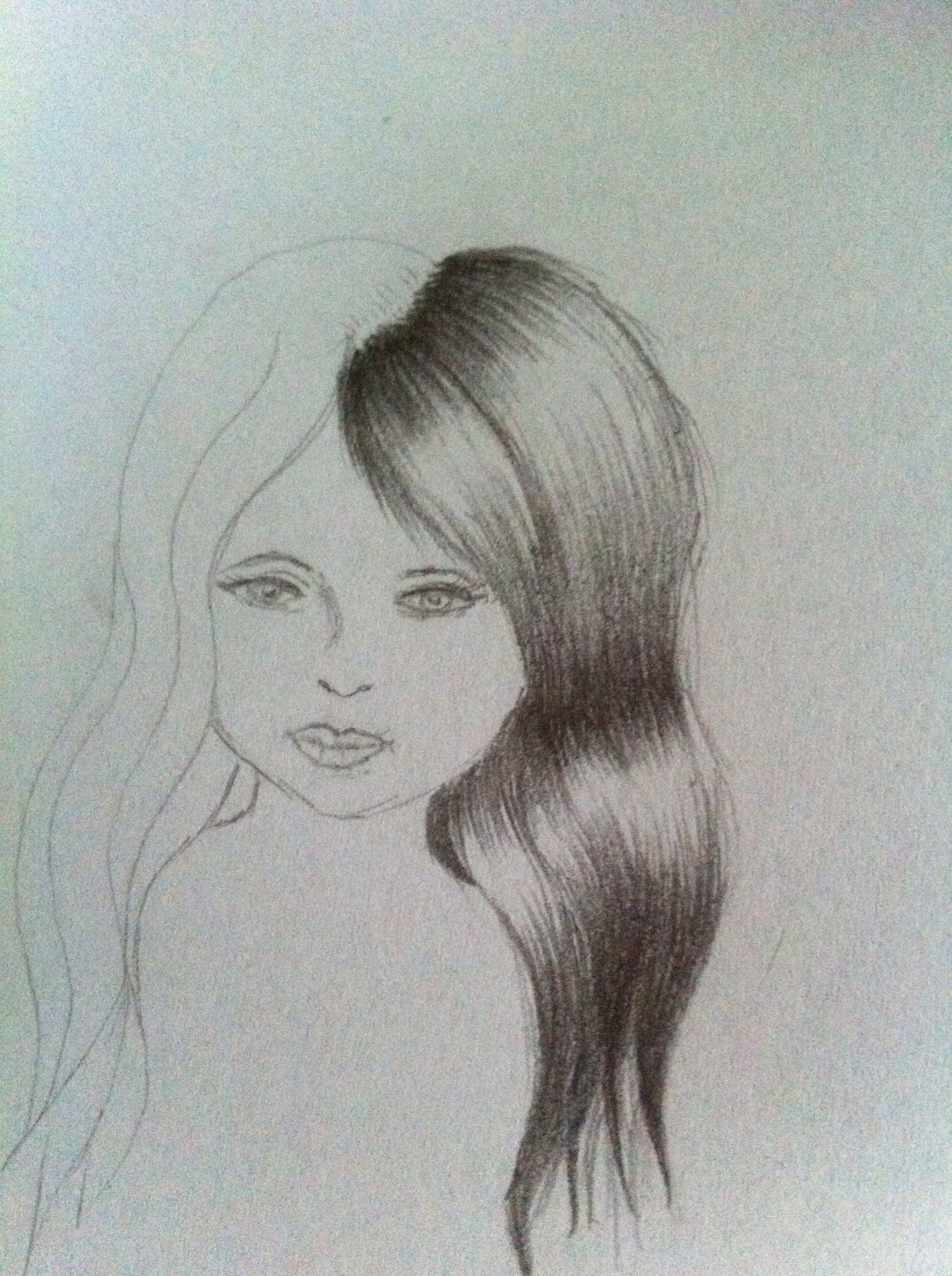 How To Draw And Shade Hair B C Guides