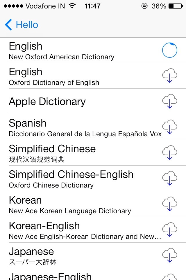 How To Use The In Built Dictionary In Ios 7 B C Guides