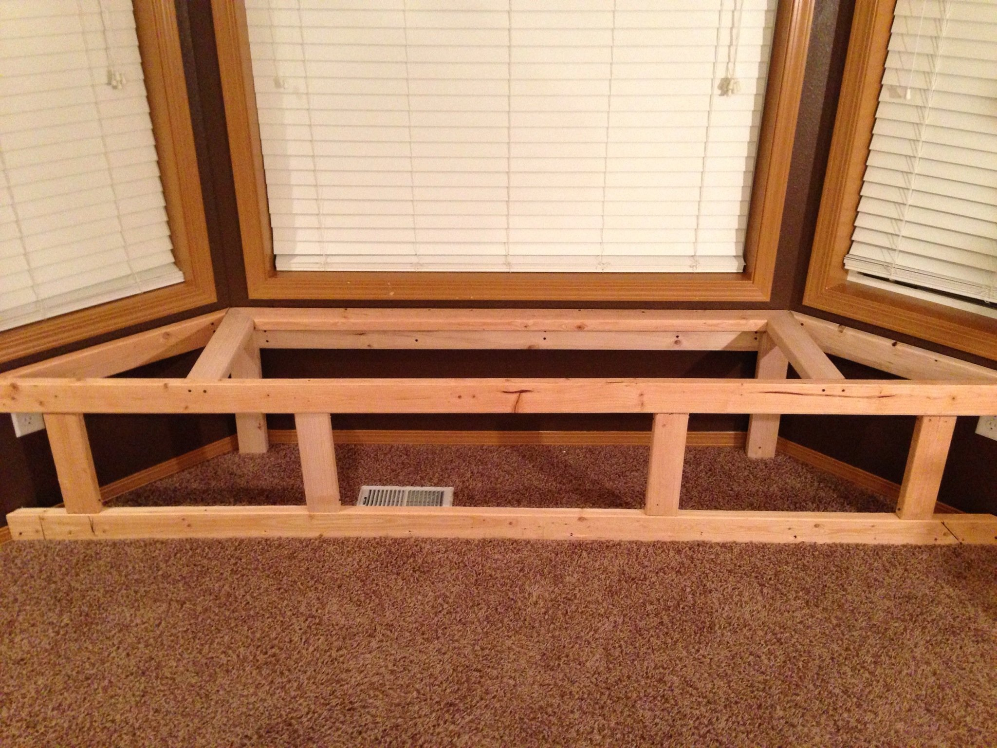 How To Make A Bay Window Bench Seat With Storage B C Guides