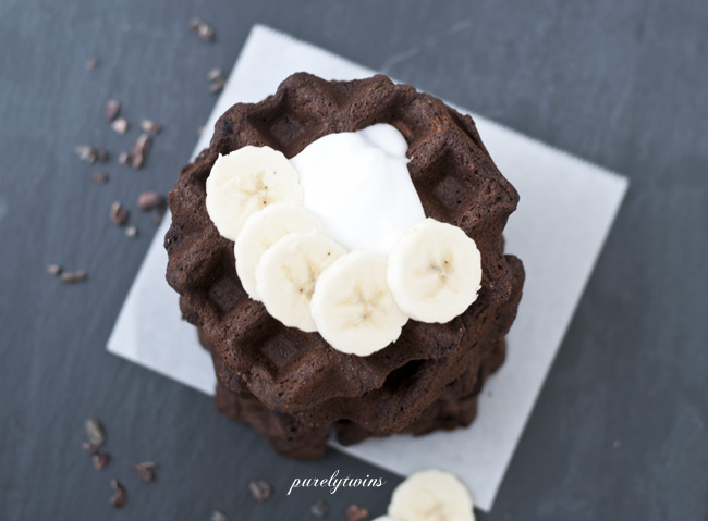 Chocolate Hemp Waffles Recipe
