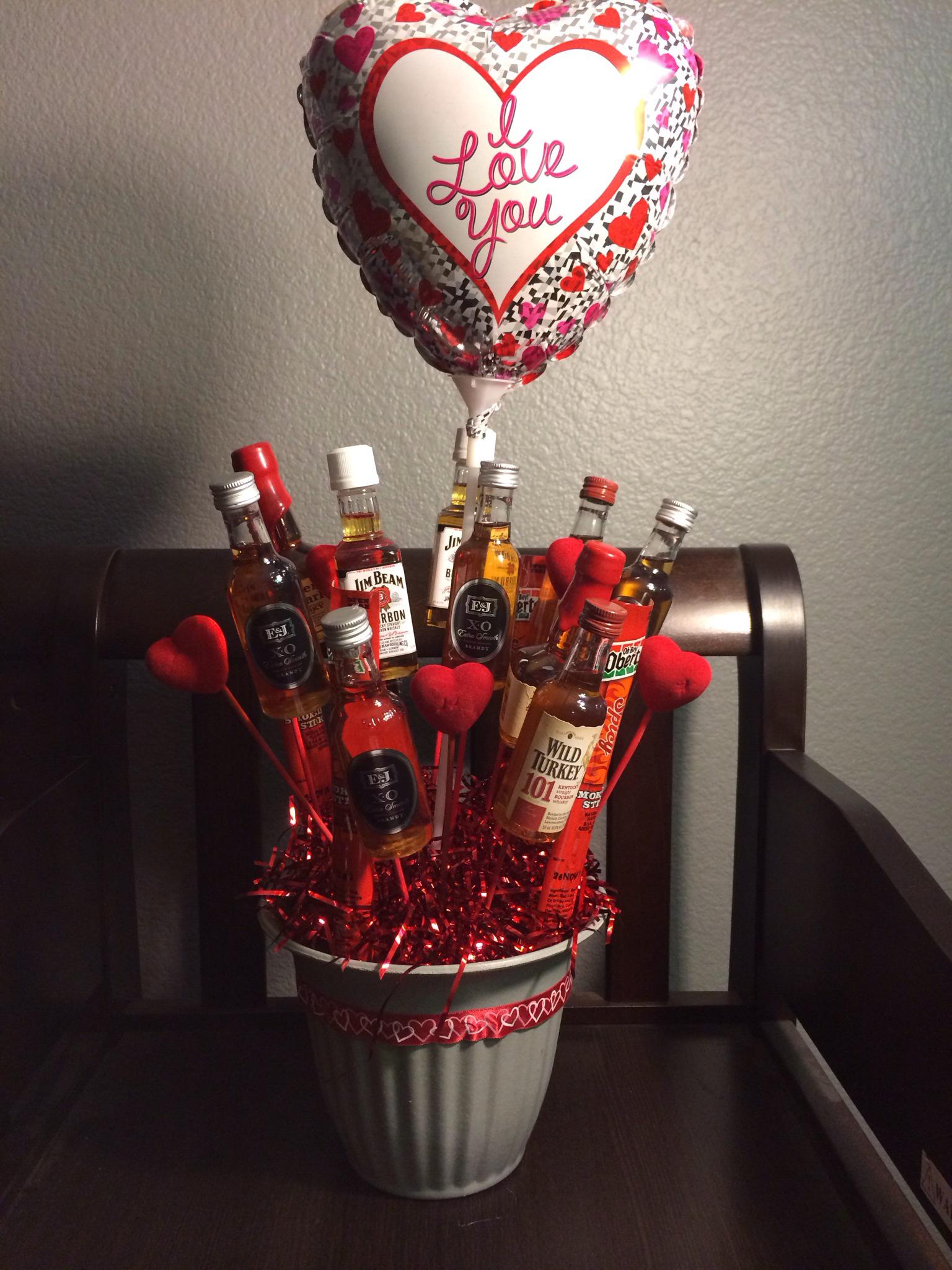 How To Make A Mini Liquor Bouquet B C Guides