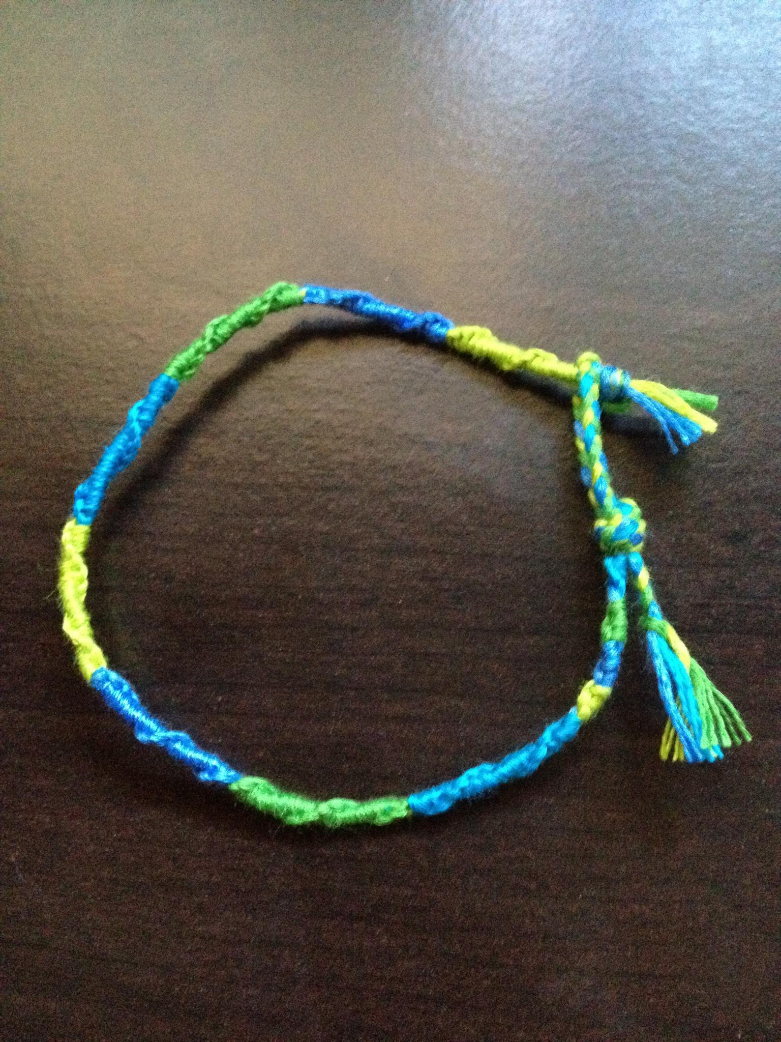 How To Make The Ends Of A Friendship Bracelet B C Guides