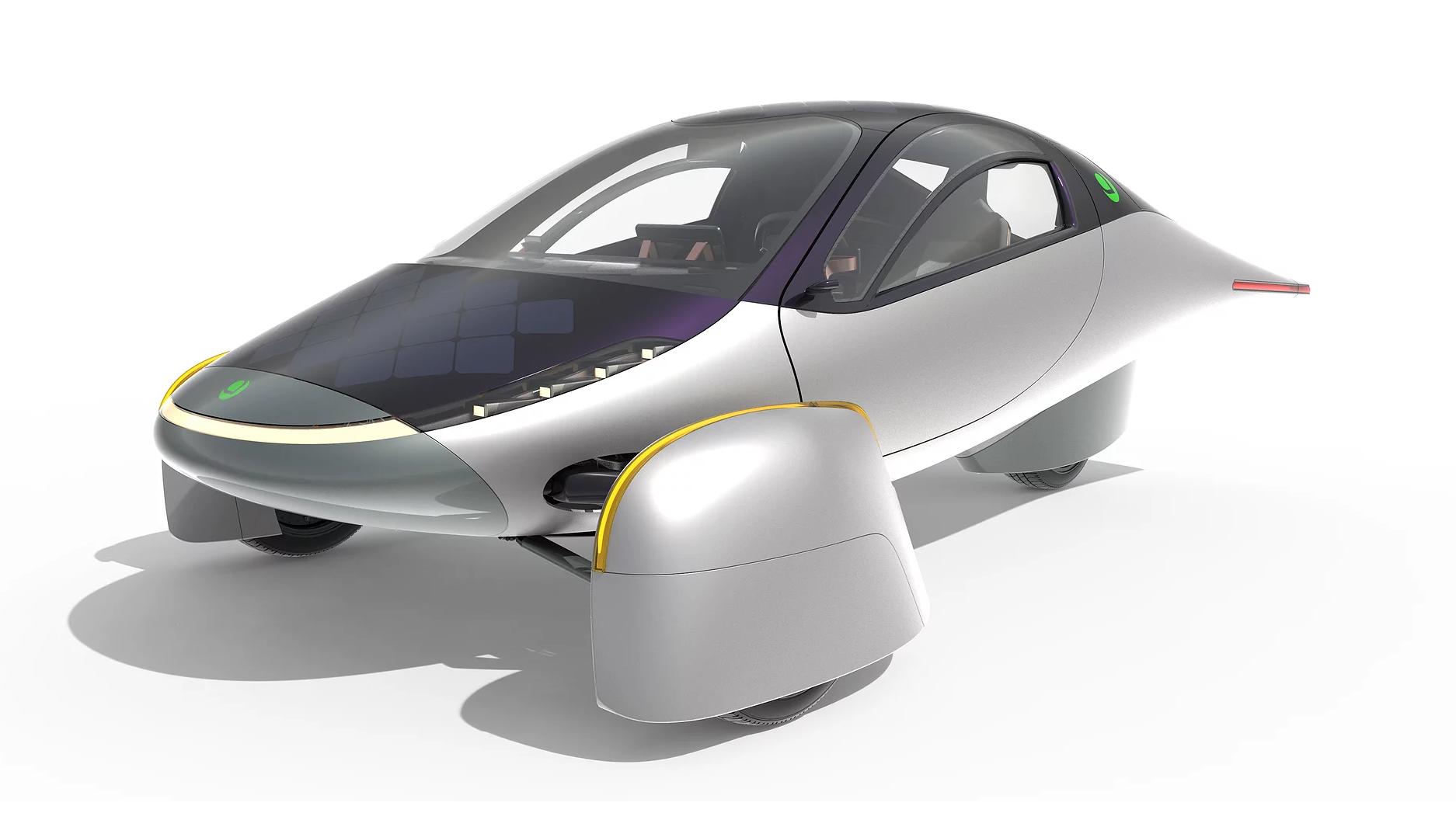 Solar-powered Aptera Paradigm claims 1,000 miles of range - Gearbrain