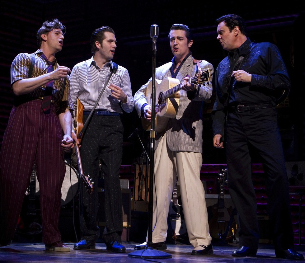 Backstage with the Million Dollar Quartet! - PAPER