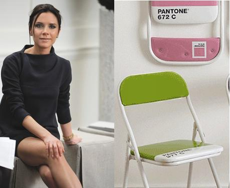 Victoria Beckham's New Line + Pantone's Folding Chairs in ...