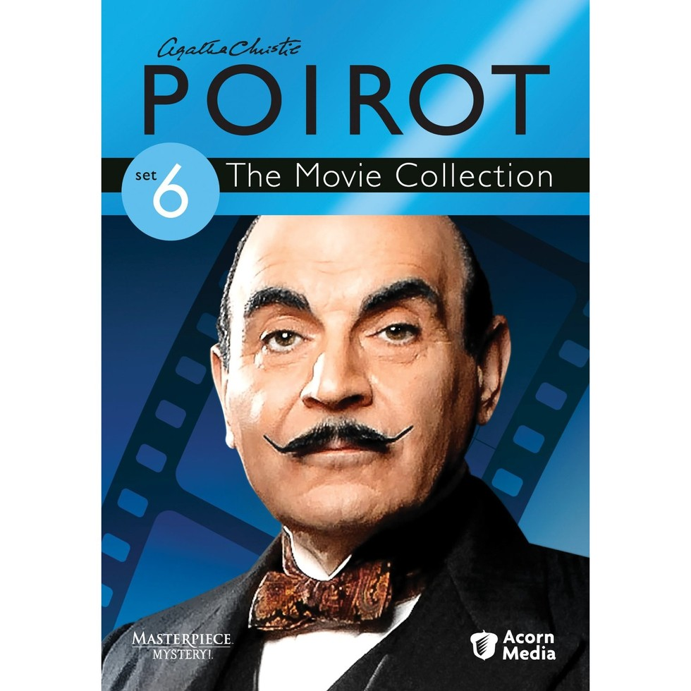 Three crackling new poirot films based on the fiction of the queen of mysteries agatha christie are now available on volume six of the poirot movie