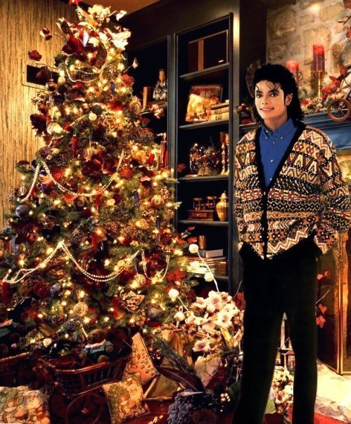 Michael Jackson Little Christmas Tree