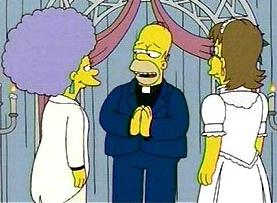 Simpsons gay marriage download