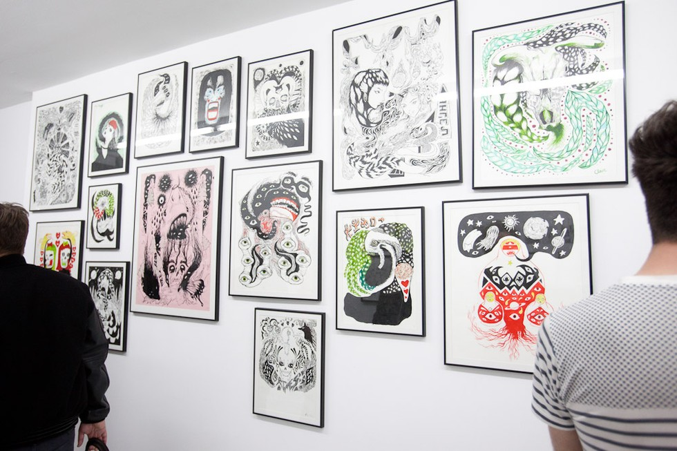 Grimes And Friends Art Show At Audio Visual Arts PAPER