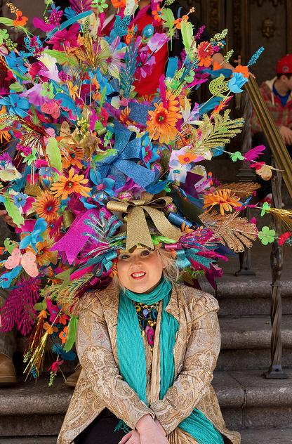 25 Most Outrageous Bonnets From New York s Easter Parade - PAPER 61f482e35c0