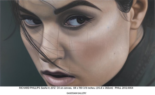 Lindsay Lohan And Sasha Grey Looking Sultry In A Preview Of Richard Phillips Gagosian -5622