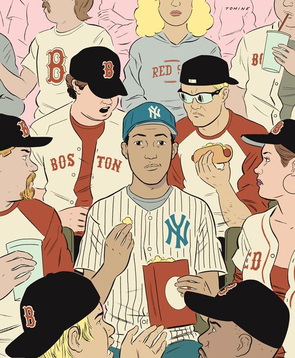 Adrian Tomines Wonderful New York Drawings