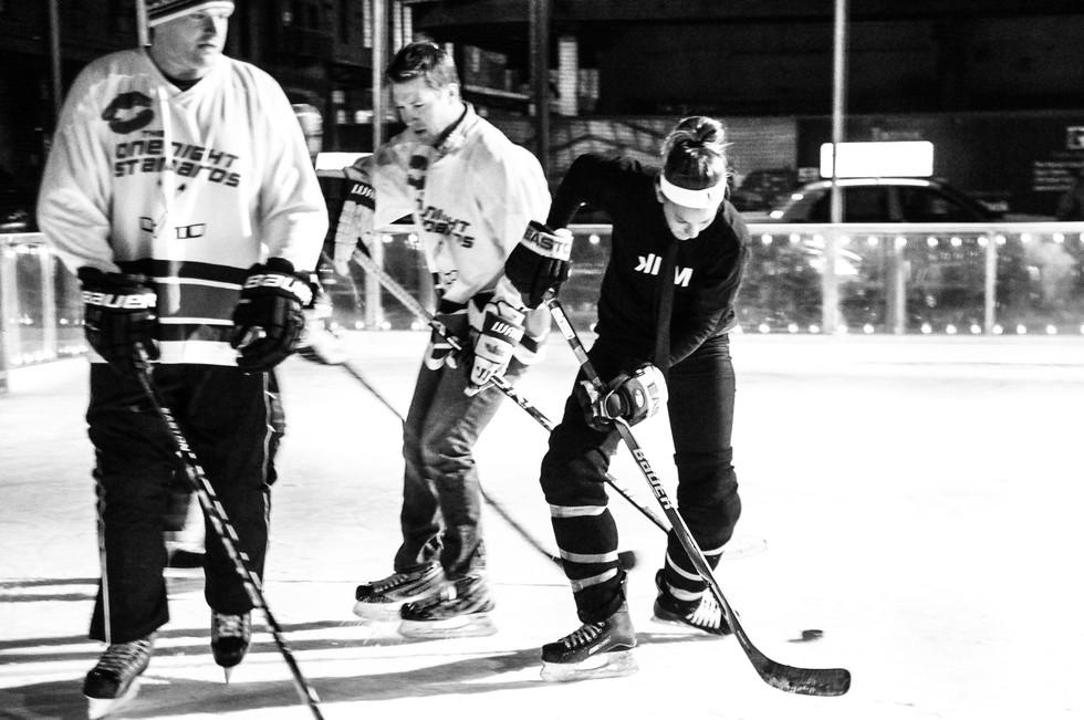 Standard Purple x Hockey