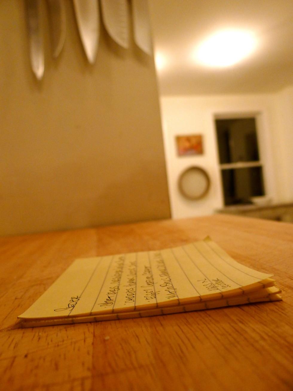Paper Seder