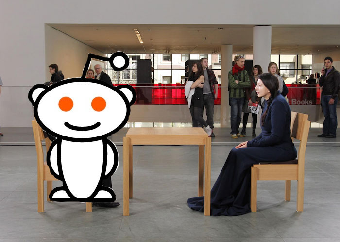 Marina Abramovi Dipped Her Toes Into The Often Fetid Occasionally Enlightening Swamp Known As Reddit For An Ask Me Anything