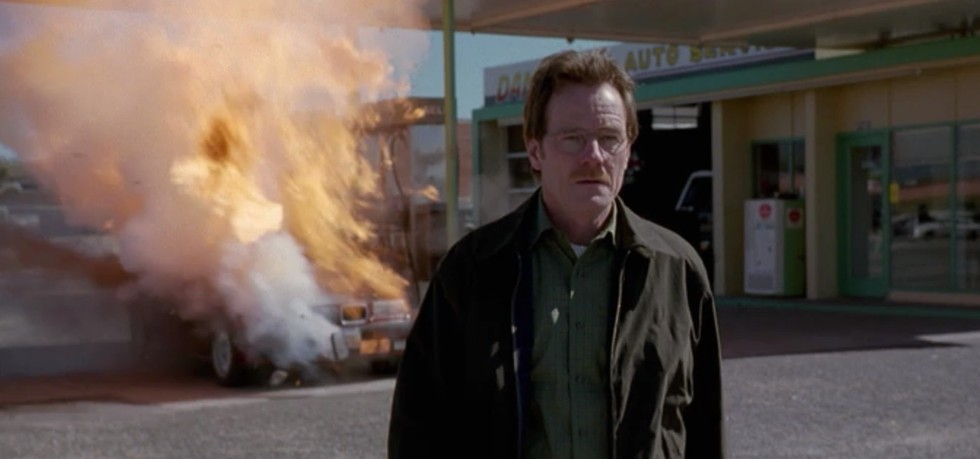Breaking Bad Car Battery Explosion