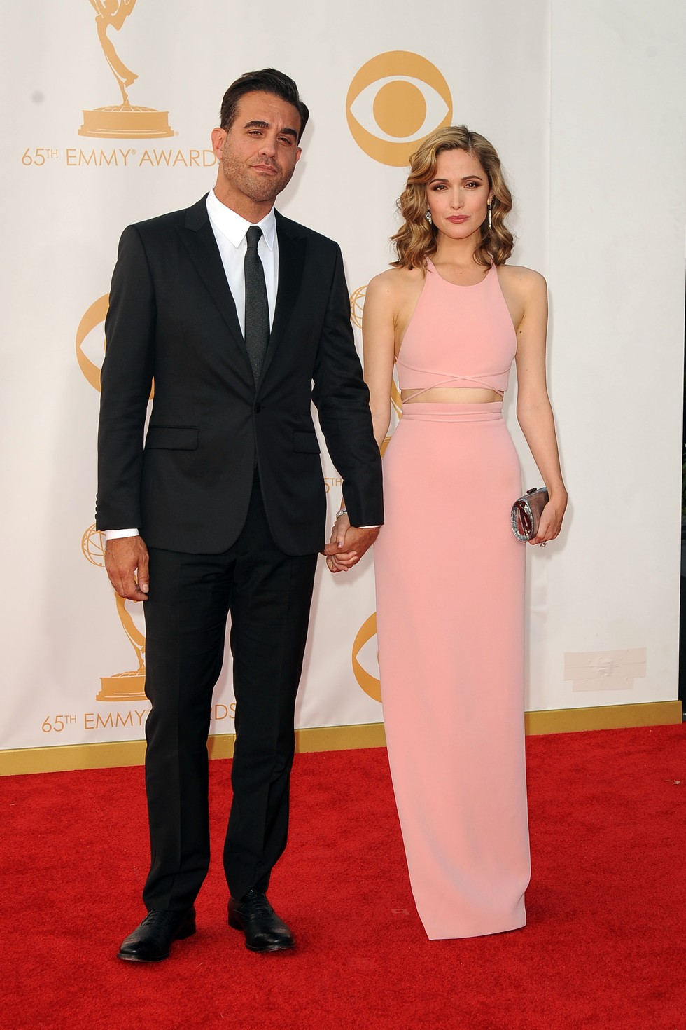 Rating the Fashion at ...Rose Byrne 2013 Emmys