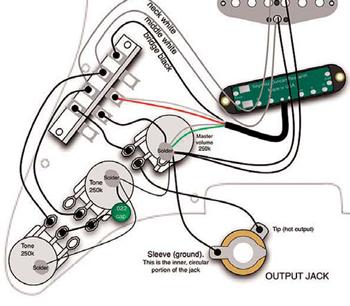 Stratocaster Auto-Split Mod - Premier Guitar   Spli Hss Guitar Wiring Diagram Coil      Premier Guitar