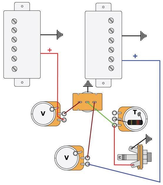 Mod Garage: Les Paul Master Wiring #2 - Premier Guitar | Guitar Wiring Diagrams Les Paul |  | Premier Guitar