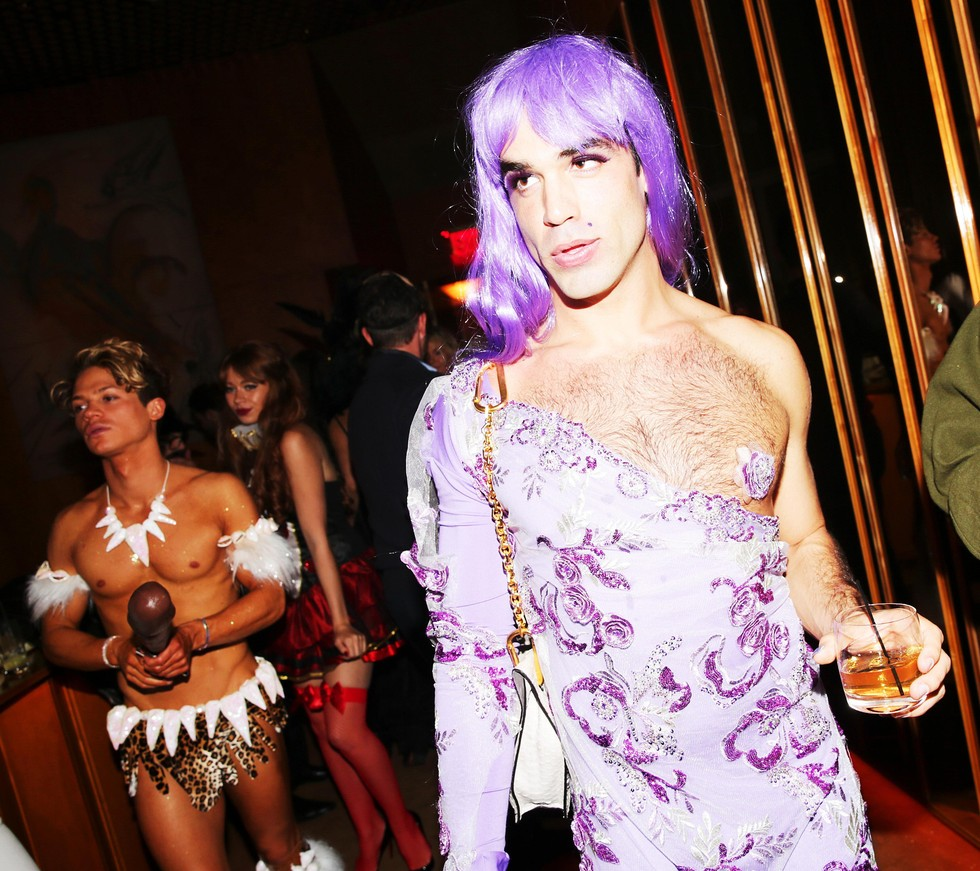 Scenes from All the Best New York City Halloween Parties Last ...