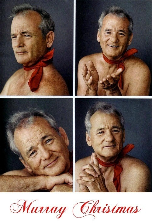 We Want/Need This Bill Murray Christmas Card - PAPERMAG