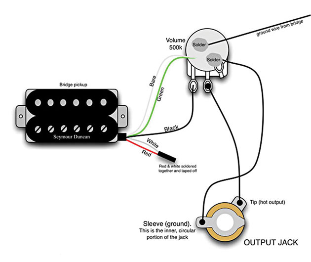 Mod Garage: The Original Eddie Van Halen Wiring - Premier Guitar | Guitar Wiring Diagrams 1 Pickup No Volume |  | Premier Guitar