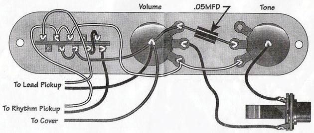 Mod Garage Telecaster Series Wiring