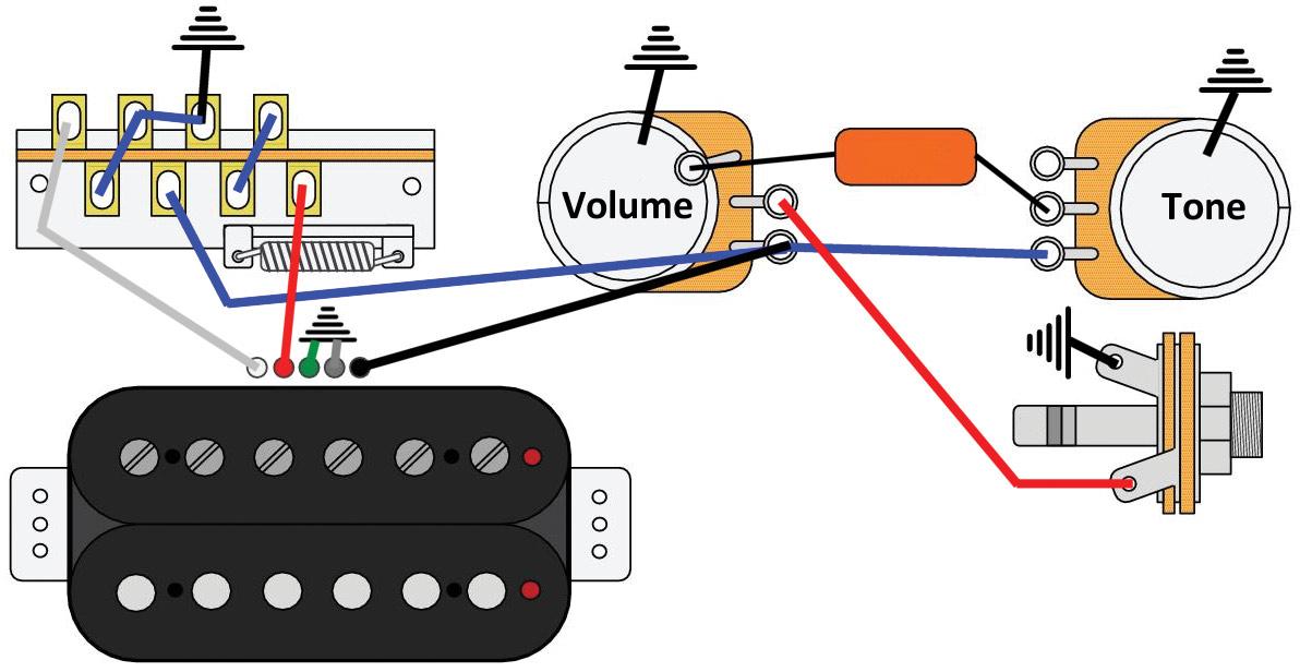 Mod Garage: The Triple-Threat, Solo Humbucker Wiring - Premier Guitar | Split Humbucker Wiring Diagram 3 |  | Premier Guitar