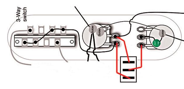 Mod Garage 50s Les Paul Wiring In A, Gibson 50 S Wiring Vs Modern