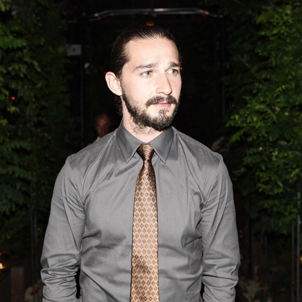 Shia labeouf cut his face with a knife for art papermag