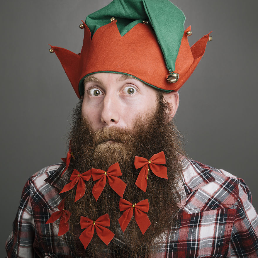 Christmas Beard.The 12 Beards Of Christmas Proves That White Dudes Love